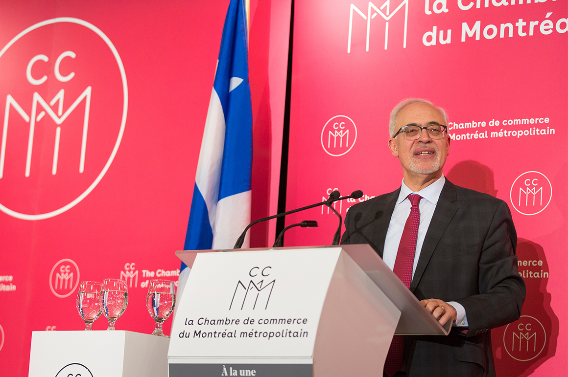 Le plan conomique du qu bec 2018 2019 ccmm for Chambre de commerce quebec